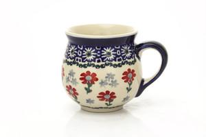 マグカップ [赤いお花/P232]