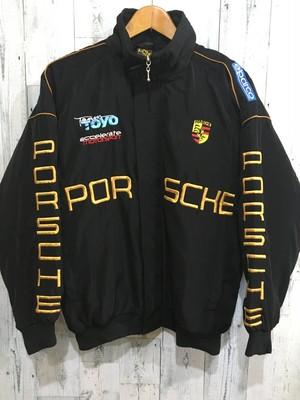 porsche ポルシェ 刺繍ブルゾン レーシングジャケット サーキット ビンテージ