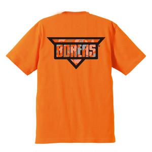 《BOREAS×biwakonia》コラボTシャツ(オレンジ×オレンジ)