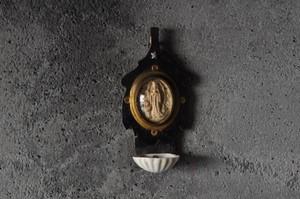 ルルドのマリア像聖水盤