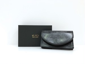 【RE.ACT】Card Case (black)