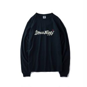 DRESS HIPPY(ドレスヒッピー) / DRESS HIPPY L/S TEE (BLACK)