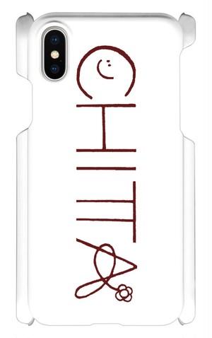 スマートフォンケース「CHITTA アーティストロゴ入り スマホカバー iPhoneX用」