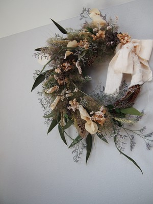 smoke tree wreath【L】