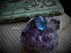 violet[xxx]+s / 蛇ガラスのリング