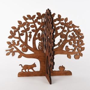 りんごの木(木製オブジェ)