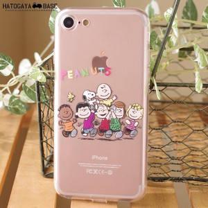 スヌーピーiPhone8/iPhone7ケース PEANUTS FRIENDS [I7SSNT14]