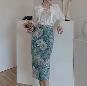 painting art skirt