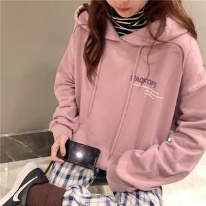 【トップス】waitmore韓国風ファッションbf薄いins人気パーカー