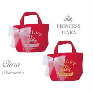 【お名入れ無料】クララ/くるみ割り人形☆プリンセスティアラ トートバッグ S