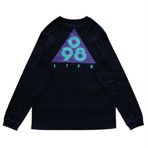 Triangle 098 L/S Tee / LIFEdsgn (GRAPE)