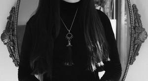 Hair Tassel【Forgotten Waltz】Silver- necklace