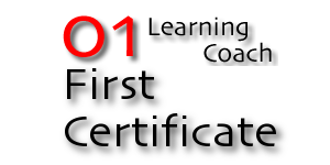 01 Learning Coach: First Certificate Training