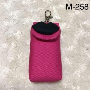 リップケース(ピンク)・くちびる(ブラック) M-258