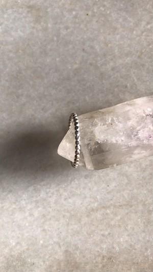 nikke   Eternity  ring  |  tsubutsubu silver