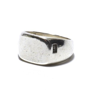 Vintage Sterling Silver Mexican Signet Ring