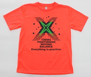「Everything is practice」 Tシャツ【蛍光オレンジ(HB-70)】