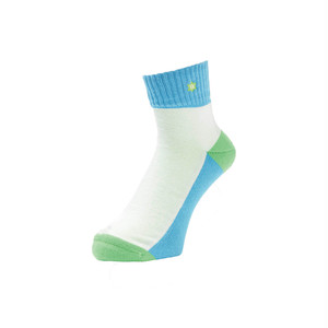 WHIMSY - VERSE SOCKS (LT BLUE)
