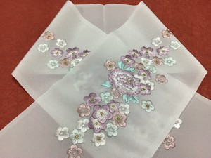 18 高級刺繍 半襟 成人式 結婚式に 京都発