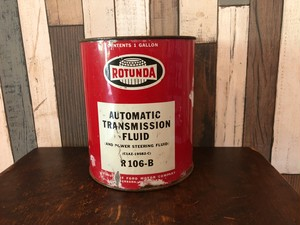 オイル缶 「ROTUNDA」