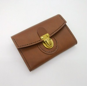 差し込み金具のミニ財布