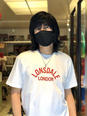 【 LONSDALE × DUSTANDROCKS 】Classic Logo T-shirts