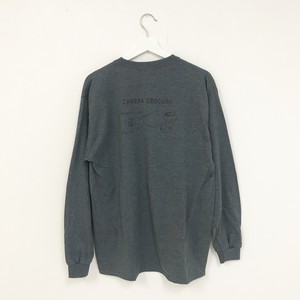 TRASH L/S TEE(DARK HEATHER)