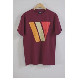 【WESTERN EDITION】BIG W S/S TEE BURGANDY