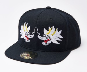 "2019 ""WHITE DRAGON"" Snap Back Cap Black"