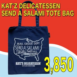 KAT'Z DELICATESSEN / SEND A SALAMI TOTE BAG