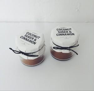 ココナッツシュガー&シナモン