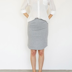 Round Pencil Skirt