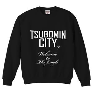 TSUBOMIN / TSUBOMIN CITY CREWNECK SWEAT BLACK
