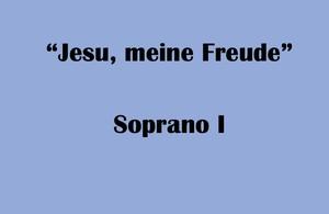 """ソプラノI用 """"Jesu, meine Freude"""" BWV227 Karaoke for Soprano I"""