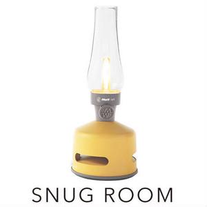 MoriMori LED ランタンスピーカー SNUG ROOM (イエロー色)