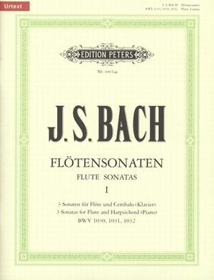 J.S.バッハ:フルートソナタ集 第1巻/フルート・ピアノ