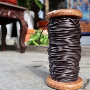超ほそい 靴紐 (チョコレイト) 丸紐 1.5mm