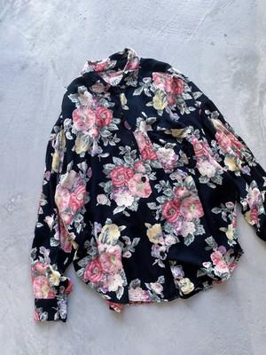 """""""AT LAST STUDIO"""" vintage floral shirt"""