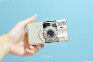 Konica Lexio115 フィルムカメラ