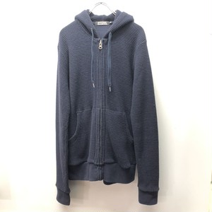 HYSTERIC GLAMOUR ヒステリックグラマー ワッフル地 ジップアップパーカー