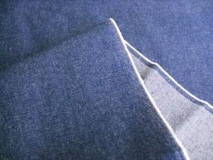 綿ストレッチ ソフトブルーデニム 9~10オンス ブルー CTN-0181