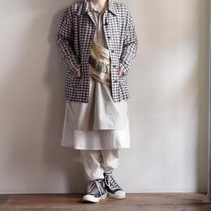 Linen Plaid Jacket / リネン チェック ジャケット
