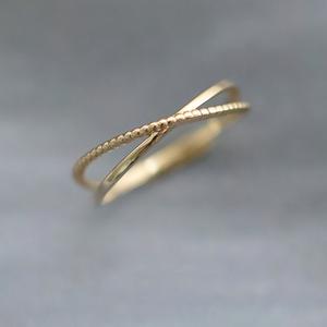 「order」slim cross ring K9 r018