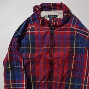 【Lサイズ】 NAUTICA ノーティカ CHECK ZIP JACKET ジャケット MULTI 400610190809