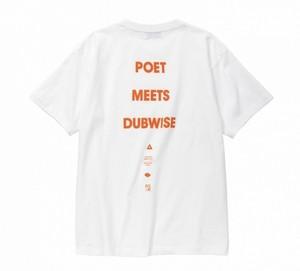 "POET MEETS DUBWISE ""POET MEETS DUBWISE LOGO TEE"""