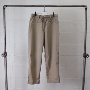 【Manual Alphabet】 SOLOTEX TROPICAL EASY TROUSERS (BEIGE) マニュアルアルファベット ソロテックス イージー トラウザーズ  日本製 MADE IN JAPAN