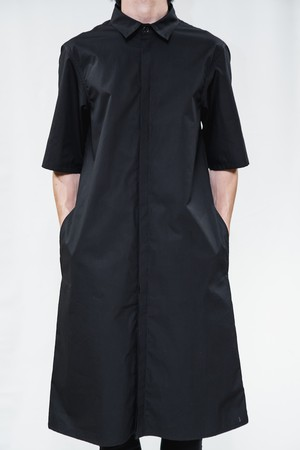 18SS Half Sleeve Long Shirt