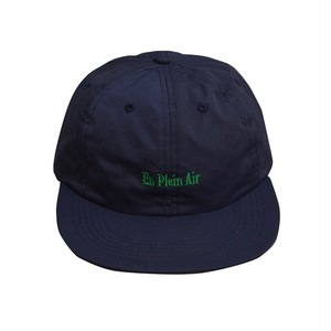 EN PLEIN AIR / NYLON 6 PANEL CAP -NAVY-