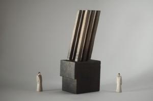 (035)wood figure-mini &structure 箱入 021