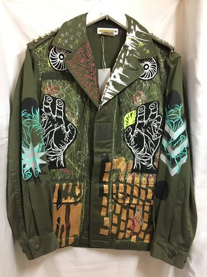 WE ARE THE remake military jacket (hand)